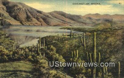 Coolidge Lake, Arizona, Postcard