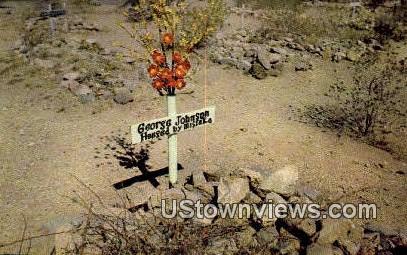 Hanged by Mistake - Tombstone, Arizona AZ Postcard