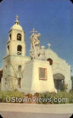 Fort Yuma Mission - Arizona AZ Postcard