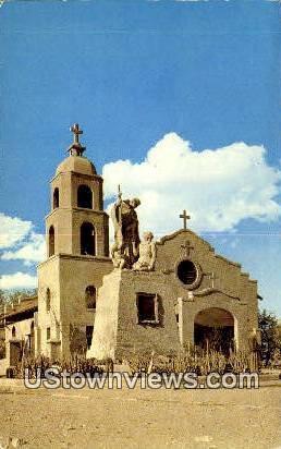 St. Thomas Indian Mission - Colorado River, Arizona AZ Postcard