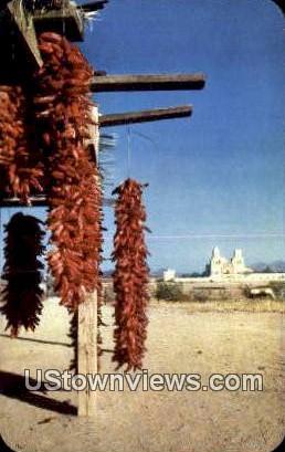 Chili Peppers - Tucson, Arizona AZ Postcard