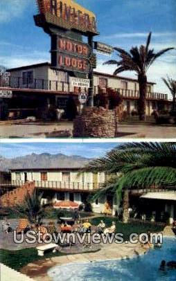 Riviera Motor Lodge - Tucson, Arizona AZ Postcard