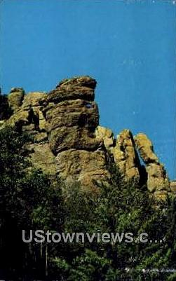 Sea Captain - Willcox, Arizona AZ Postcard