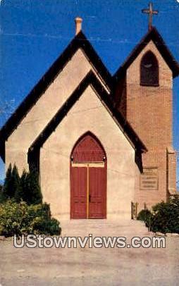 Episcopal Church - Tombstone, Arizona AZ Postcard