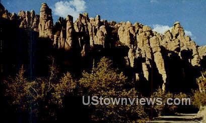 Chiricahua National Monument - Willcox, Arizona AZ Postcard