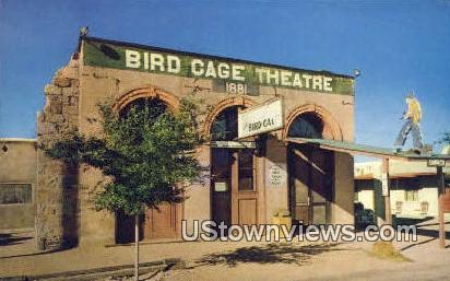 Bird Cage Theatre - Tombstone, Arizona AZ Postcard