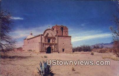 Mission San Jose de Tumacacori - Tumacacori National Monument, Arizona AZ Postcard