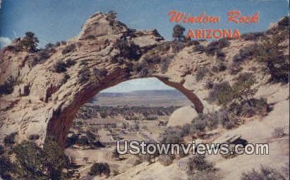 Window Rock, Arizona,     ;     Window Rock, AZ Postcard