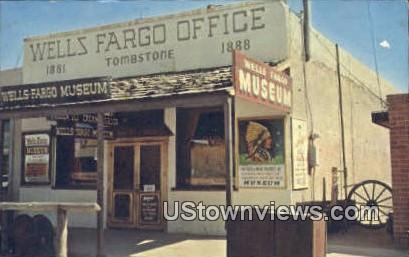 Wells Fargo Stage Office - Tombstone, Arizona AZ Postcard