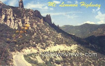 Mt Lemmon Highway - Tucson, Arizona AZ Postcard