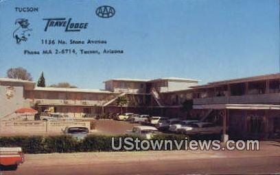 Tucson Travelodge - Arizona AZ Postcard