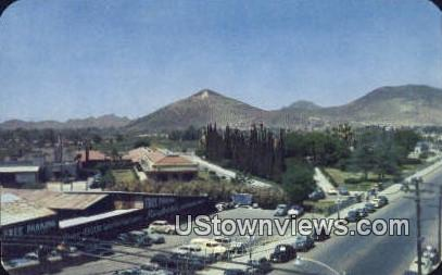 Southern Pacific Railroad Mountains - Tucson, Arizona AZ Postcard