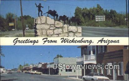 Wickenburg, Arizona,     ;     Wickenburg, AZ Postcard
