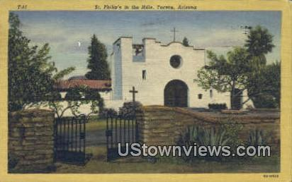 St Philip's in the Hills - Tucson, Arizona AZ Postcard
