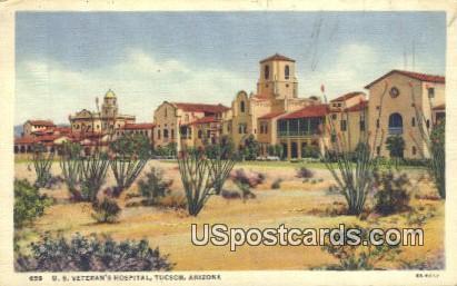 US Veteran's Hospital - Tucson, Arizona AZ Postcard