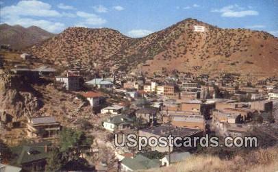 Copper Mining Town - Bisbee, Arizona AZ Postcard