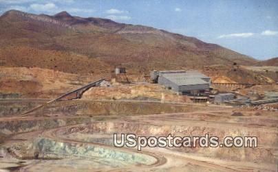 Lavender Pit & Copper Mill - Bisbee, Arizona AZ Postcard