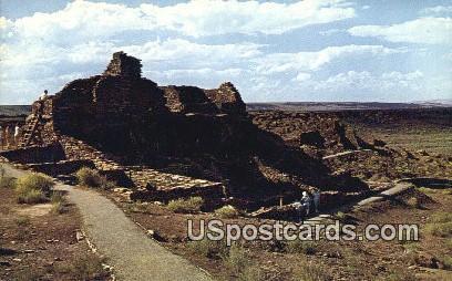 Wupatki National Monument, Arizona Postcard     ;     Wupatki National Monument, AZ