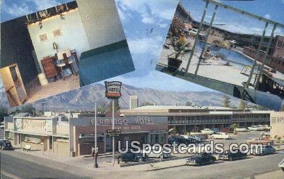Flamingo Hotel - Tucson, Arizona AZ Postcard