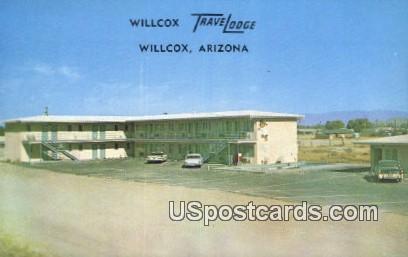 Willcox Travelodge - Arizona AZ Postcard