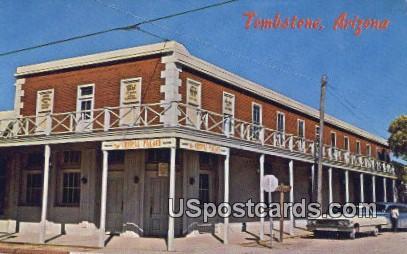 Crystal Palace - Tombstone, Arizona AZ Postcard