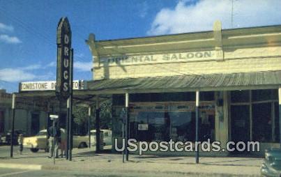 Original Oriental Saloon - Tombstone, Arizona AZ Postcard
