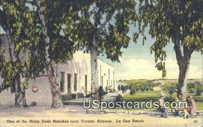 Many Dude Ranches, La Osa Ranch - Tucson, Arizona AZ Postcard
