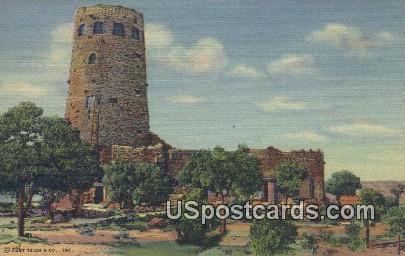 Indian Watchtower - Grand Canyon National Park, Arizona AZ Postcard