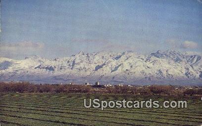 Santa Catalina Mountains - Tucson, Arizona AZ Postcard