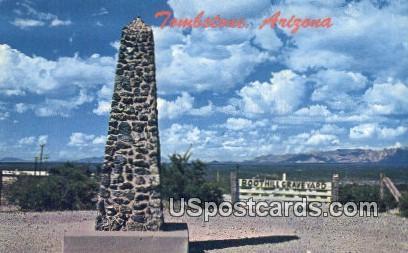 Boot Hill Graveyard - Tombstone, Arizona AZ Postcard