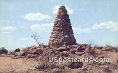 Ed Schieffelin's Grave - Tombstone, Arizona AZ Postcard