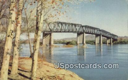 Colorado River, Arizona Postcard     ;     Colorado River, AZ