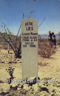 Wells Fargo Agent - Tombstone, Arizona AZ Postcard