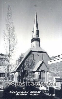 Presbyterian Church - Bisbee, Arizona AZ Postcard