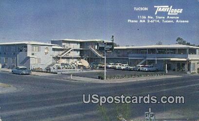 Tuscon Travelodge - Tucson, Arizona AZ Postcard