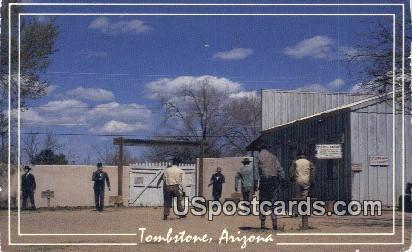 Shoot Out at the OK Corral - Tombstone, Arizona AZ Postcard