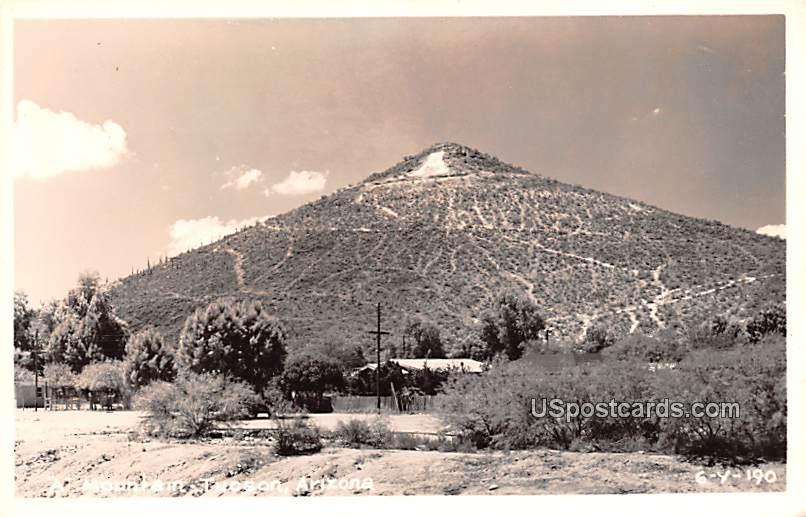 Mountain - Tucson, Arizona AZ Postcard