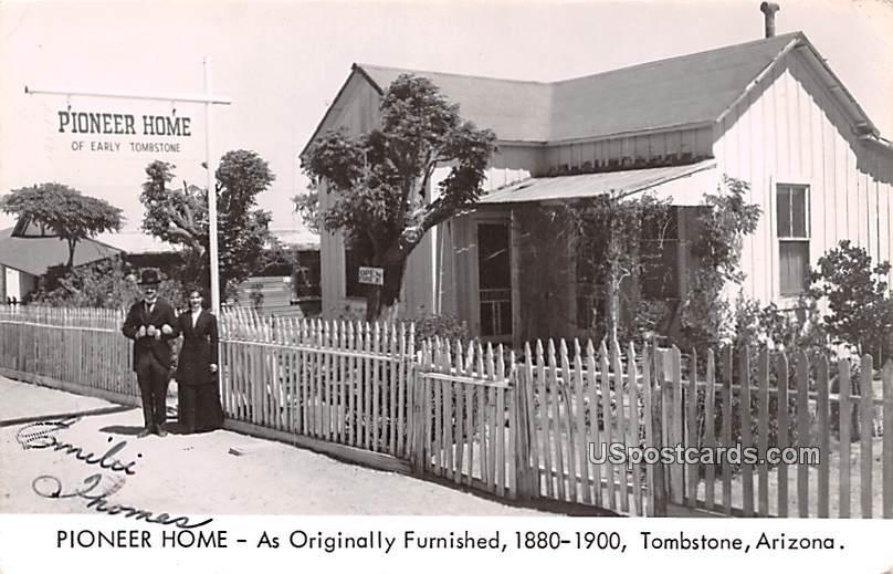 Pioneer Home - Tombstone, Arizona AZ Postcard