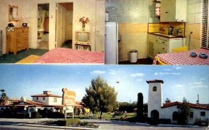 El Rancho Motor Hotel - Tucson, Arizona AZ Postcard