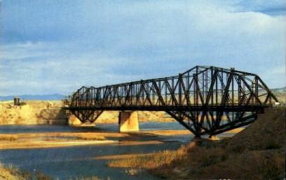 Colorado River Bridge - Toprock, Arizona AZ Postcard