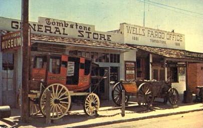 General Store - Tombstone, Arizona AZ Postcard