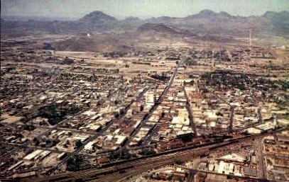 Aerial View - Tucson, Arizona AZ Postcard