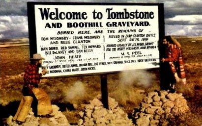 Tombstone - Arizona AZ Postcard
