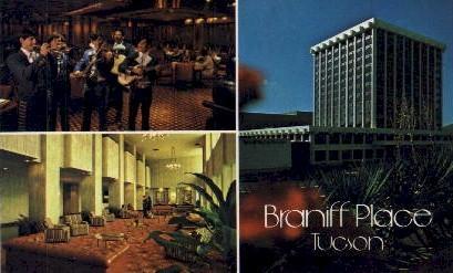 Braniff Place - Tucson, Arizona AZ Postcard