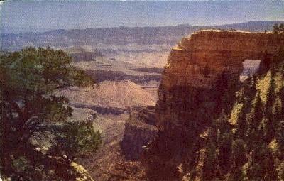 Angel's Window  - The Grand Canyon, Arizona AZ Postcard