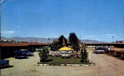 Redwood Lodge Motel - Tucson, Arizona AZ Postcard