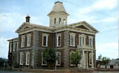The Original Cochise County Courthouse - Tucson, Arizona AZ Postcard