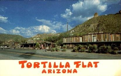 Tortilla Flat - Arizona AZ Postcard