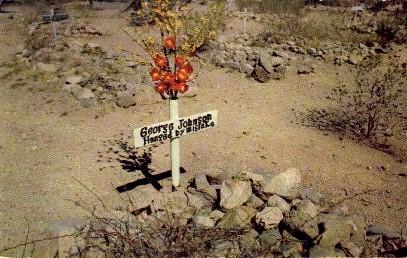 Hanged byu Mistake - Tombstone, Arizona AZ Postcard