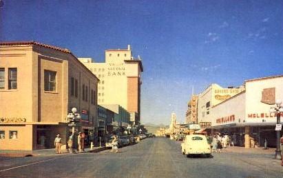 Congress Street - Tucson, Arizona AZ Postcard